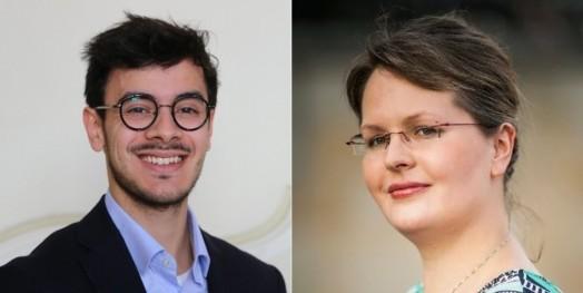 Arnaud de Sousa et Cathrin Gräber