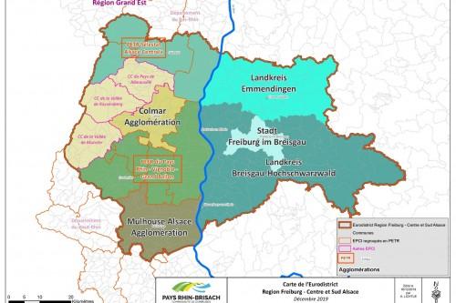 Carte Eurodistrict