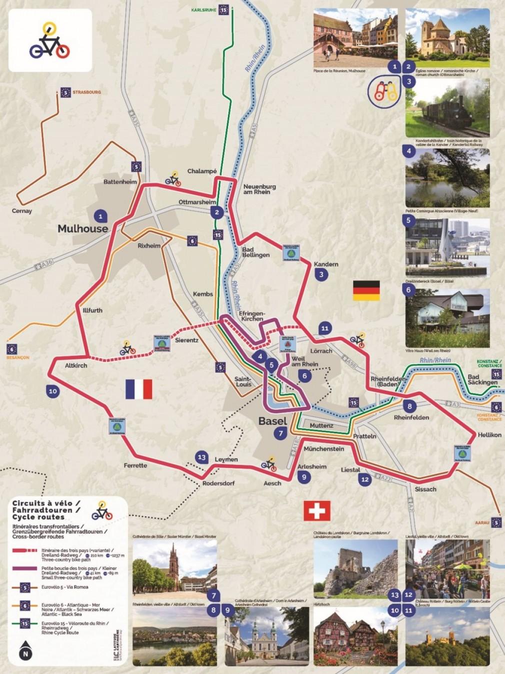 Dreilandradregion
