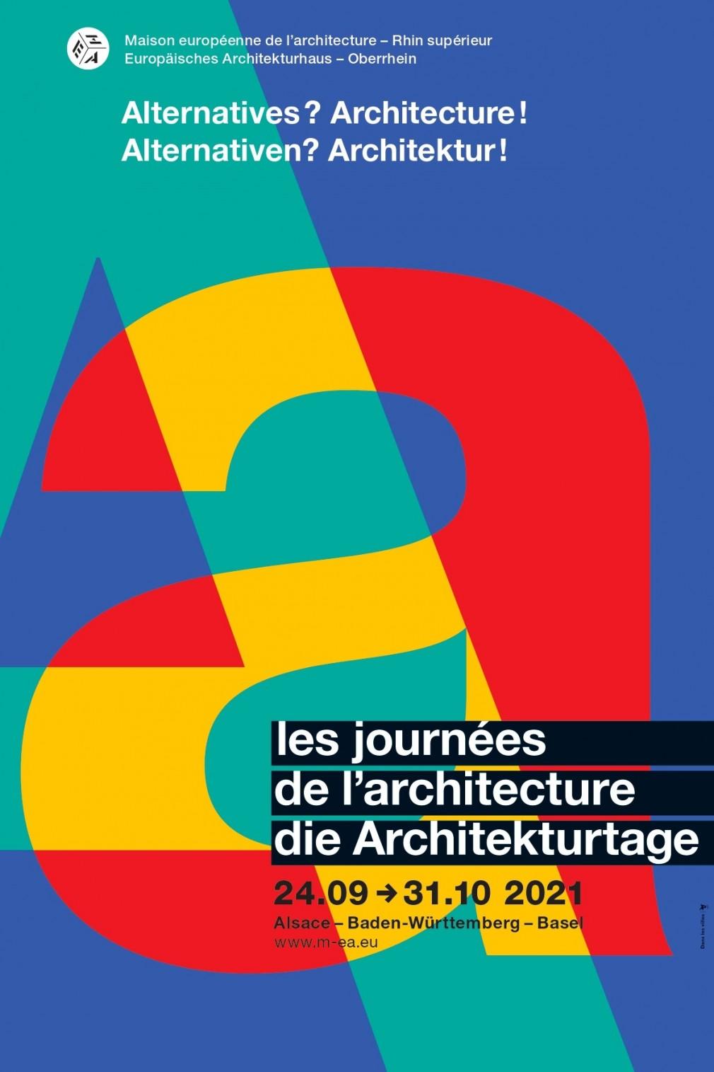 Affiche Journée architecture