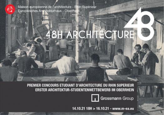 journées architecture affiche concours