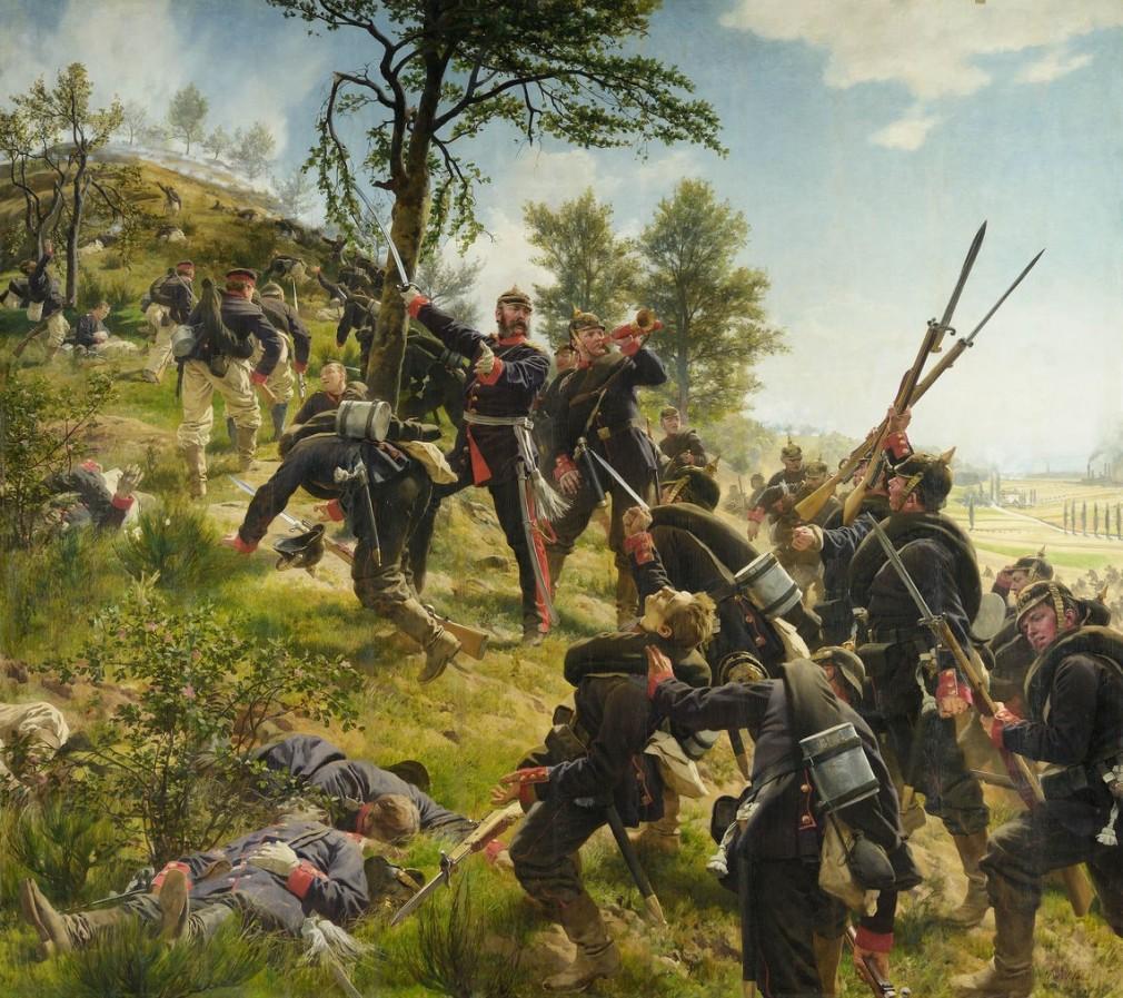 L'assaut du Spicherner Berg